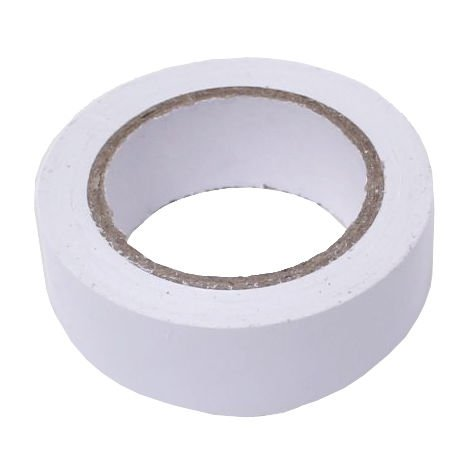 cinta aislante 19mmx10m blanco