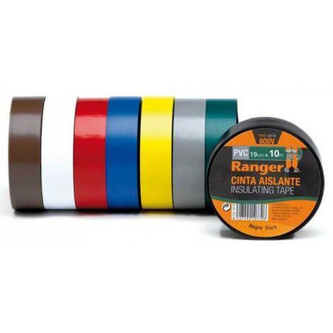 Cinta aislante de PVC 19mmx20m Ranger
