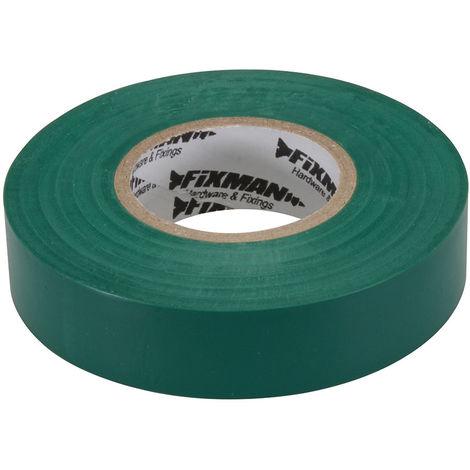 Cinta aislante Verde, 19 mm x 33 m - NEOFERR