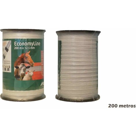 Cinta AKO 200m para pastor eléctrico de uso en cercas eléctricas