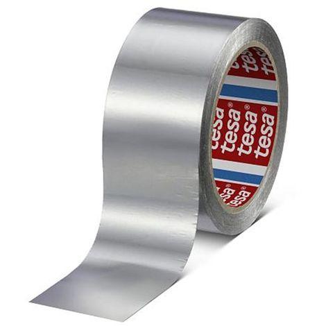 Cinta aluminio 30 micras sin liner aluminio 50 Metros x 50 mm 60630-00002-00 (24 unidades)