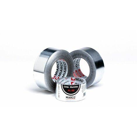 Cinta aluminio plata brico Miarco 10992 AL30 50mmx10mt
