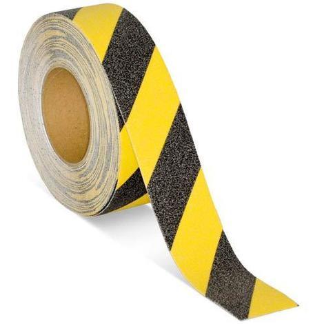 Cinta antideslizante 50mmx15m negra/amarilla 60951 TESA