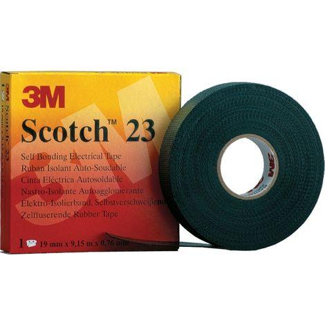 Cinta autosoldable 3M Scotch 23 - 9,15 MT X 19MM