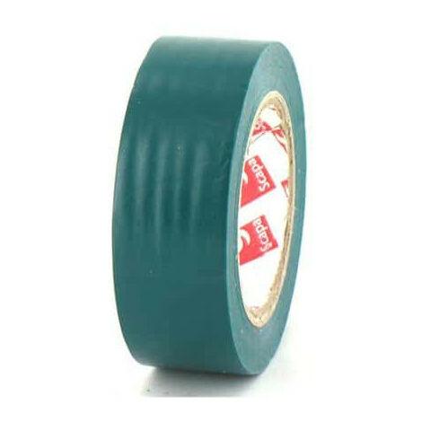 Cinta de 15 mm de PVC eléctrica Scapa 2702 verde