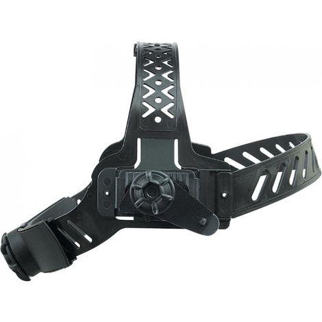 Cinta de cabeza para casco automático -Solar Protect- negro