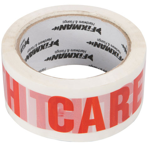 Cinta de embalaje 'HANDLE WITH CARE' 66 m x 48 mm - NEOFERR