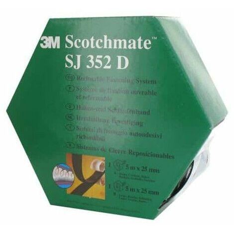 cinta de goma de 3M Dual Lock SJ352D