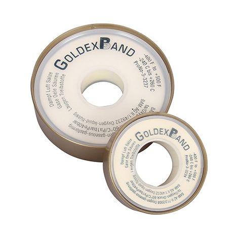 Cinta de impermeabilidad hilo de PTFE Goldex