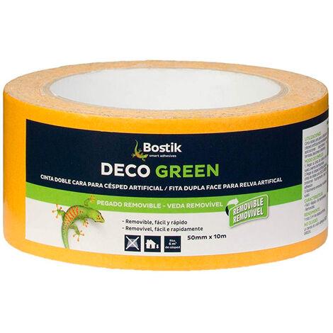 CINTA DOBLE CARA DECO GREEN 5CM.X10M. 30817117