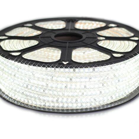 Cinta LED profesional EPISTAR 2835 120 LED/m de 25 o 50 metros de color blanco Resistente al agua de refrigeración (IP68)