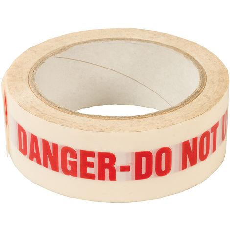 """Cinta para señalización """"DANGER DO NOT USE"""" 38 mm x 33 m - NEOFERR"""