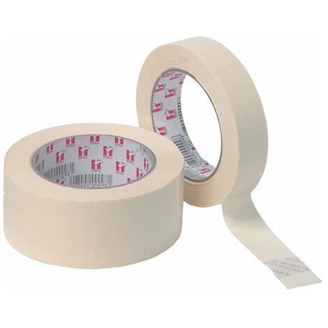 45m. cinta de enmascarar Krepp blanca 24 mm. (Miarco 99)