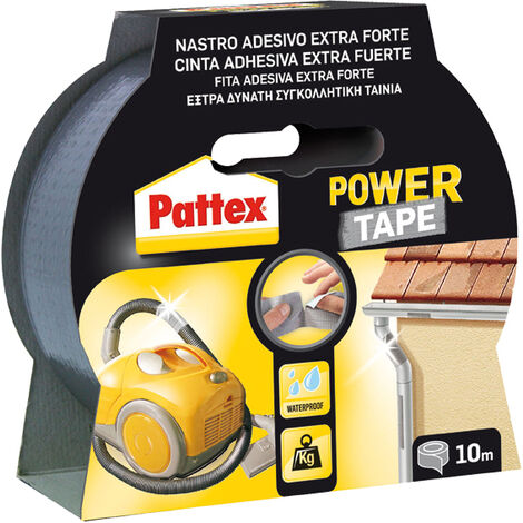 CINTA POWER TAPE 50X5M BLISTER - Varios colores