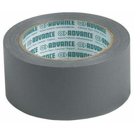 Cinta PVC adhesiva gris 50 mm - ADVANCE : 161935