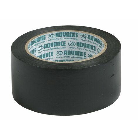 Cinta PVC adhesiva negra 30mm - ADVANCE : 103256