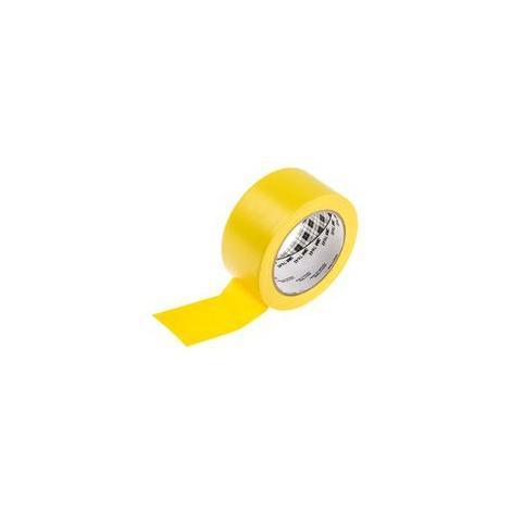 Cinta señalizacion adhesiva 764I 50mm x 33m amarilla 3M