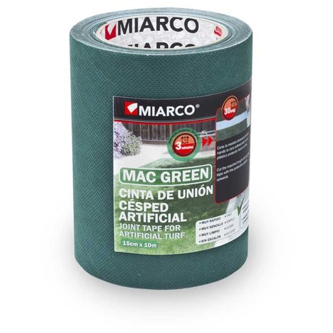 Cinta union Cesped Artificial Macgreen 150mm x 10mt Miarco 17446