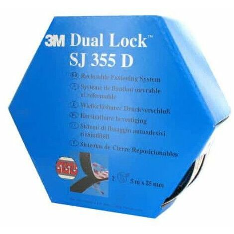 cinta VHB acrílico 3M Dual Lock SJ355D