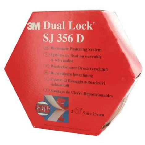 cinta VHB acrílico 3M Dual Lock SJ356D