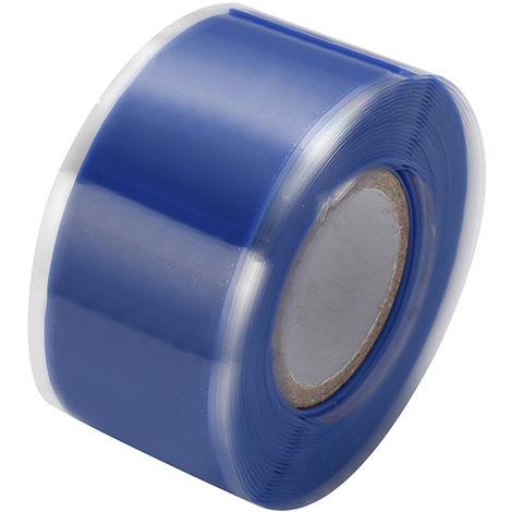 Cintas autoadhesivas de aislamiento de sellado de caucho de silicona, 3m * 3cm,Azul