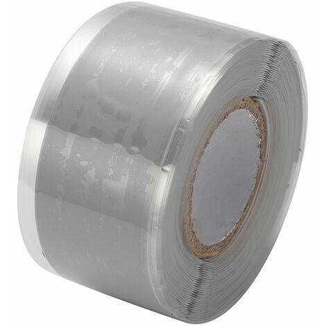 Cintas autoadhesivas de aislamiento de sellado de caucho de silicona, 3m * 3cm,Gris