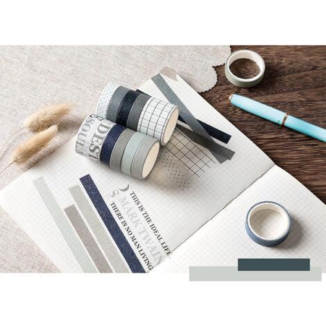 Cintas de la serie del sueno dulce de papel japones japones Scrapbooking rollos de cinta de 2 metros para la decoracion Revistas libros de recuerdos del embalaje de regalo, Tiempo britanica