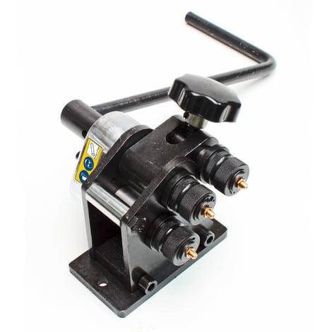 Cintreuse à rouleau manuelle - 5-7 mm - acier plat ou rond