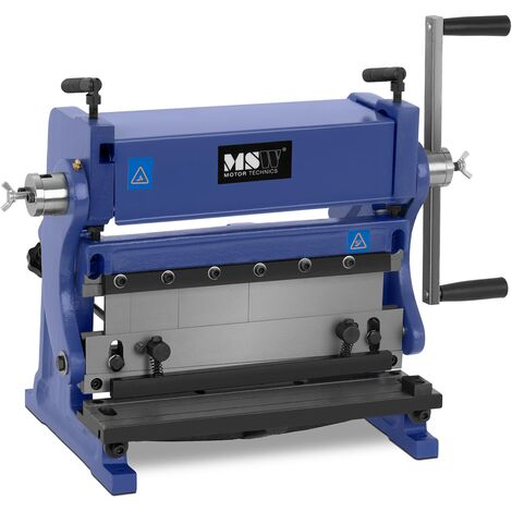 Cintreuse À Rouleaux Machine À Cintrer Manuelle 3-En-1 Avec Matrices 305 X 1 Mm