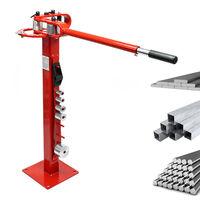 Cintreuse compacte avec pied pour acier plat, acier rond, acier carré, acier plat