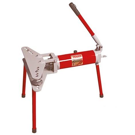 Cintreuse horizontale manuelle hydraulique 10 T + 6 formes - RBM 10 HOLZMANN - -