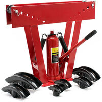 Cintreuse hydraulique 12t Presse à cintrer Plier Machine Tube Chauffage Automobile Tuyau universel