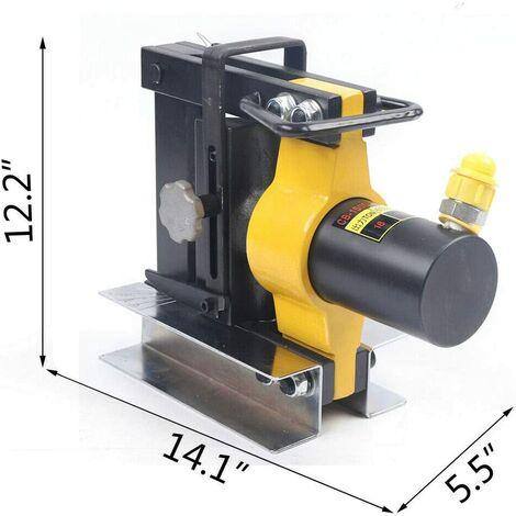 Cintreuse Hydraulique en Cuivre 10 mm d'épaisseur Cintreuse Hydraulique en cuivre pour barre de bus de 10 mm d'épaisseur Outil de flexion en cuivre