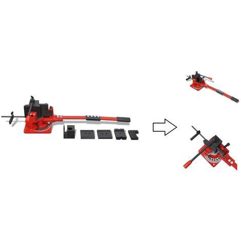 Cintreuse manuelle à rouleaux pour tube acier max ø18 mm