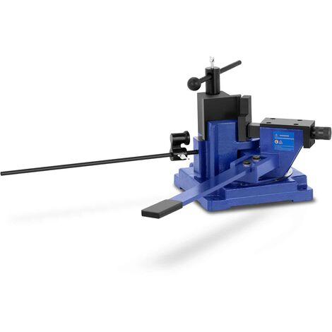 Cintreuse Plieuse Presse à Cintrer Manuelle MSW 120° 23 kg/mm2 Acier Plat L: 100 mm max