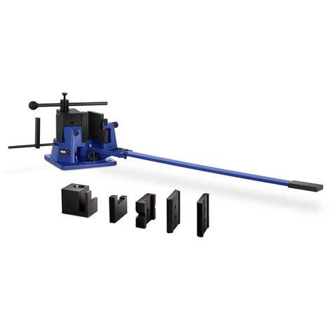 Cintreuse Plieuse Presse à Cintrer Manuelle MSW 120° 23 kg/mm2 L: 100 mm max
