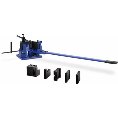 Cintreuse Plieuse Presse à Cintrer Manuelle MSW 120° 23 kg/mm2 L: 70 mm max