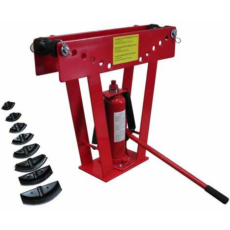 Cintreuse-Presse à cintrer hydraulique - 16 T + 8 matrices