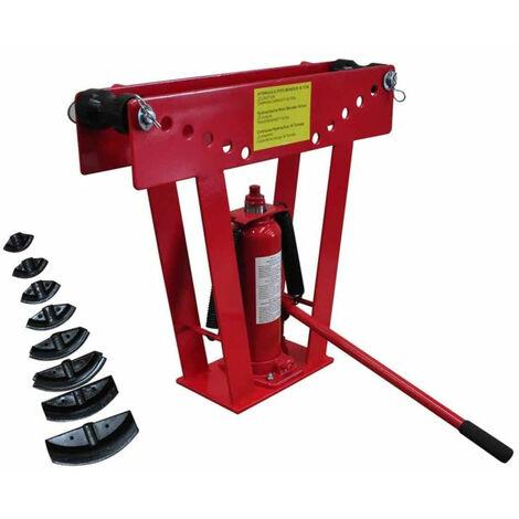Cintreuse-Presse a cintrer hydraulique - 16 T + 8 matrices