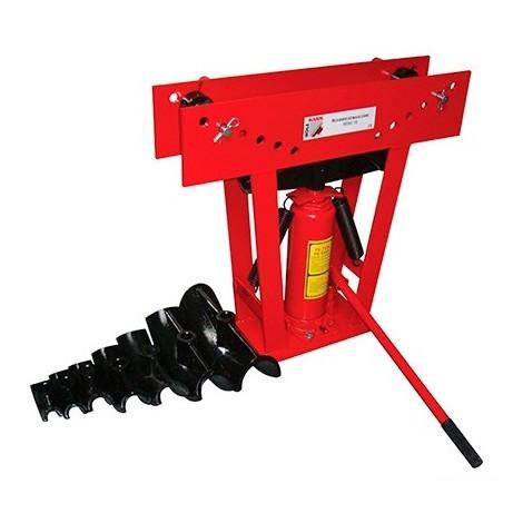 Cintreuse verticale manuelle hydraulique 16 T + 8 formes - RBM 16 HOLZMANN - -