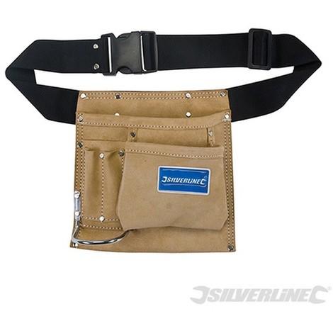 Cinturón portaherramientas y clavos con 5 bolsillos (220 x 220 mm) 9275494041f8