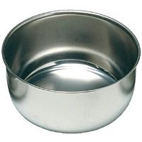 Cat Supplies Ciotola Bassa Doppia Con Esterno In Plastica E Interno In Acciaio Inox Fuss-dog