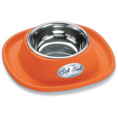 Dishes, Feeders & Fountains Ciotola In Acciaio Inox Con Portaciotola In Gomma Antiformiche Per Cani E Gatti Pet Supplies