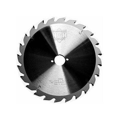 Circulaire Allemagne HM-jjw Hanna 230x 2,5x 30Z = 24WZ spécialement conçu pour Mafell, 1pièce, 4250980691637