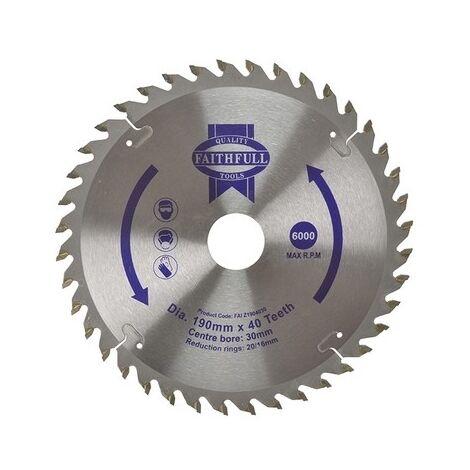 Circular Saw Blades 190mm