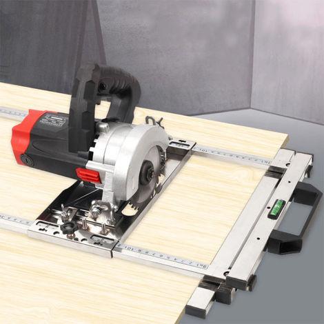 """main image of """"Circular sierra electrica Guia de la maquina de recorte, Posicionamiento Herramientas tabla de cortar, carpinteria Router"""""""