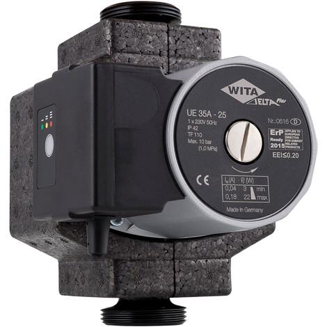 Circulateur a économie d'énergie UE 35A-25 en fonte Entre axe: 180mm G 1