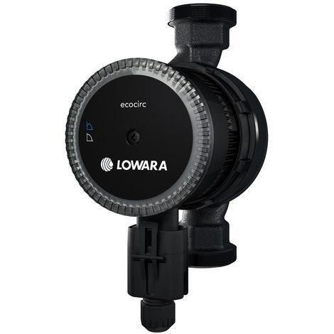 Circulateur à Haut Rendement 25-40 180 ecocirc Lowara BASIC chauffage, ventilation et circulation de l'eau chaude