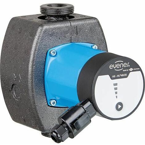 Circulateur chauffage EVENES HE-HL+ 60-15S,DN15(1/2),PN10 230V, longueur totale 130mm