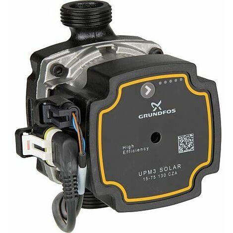 Circulateur de rechange Grundfos UPM3 solaire 15-75PWM *BG* pour sation solaire GPS70